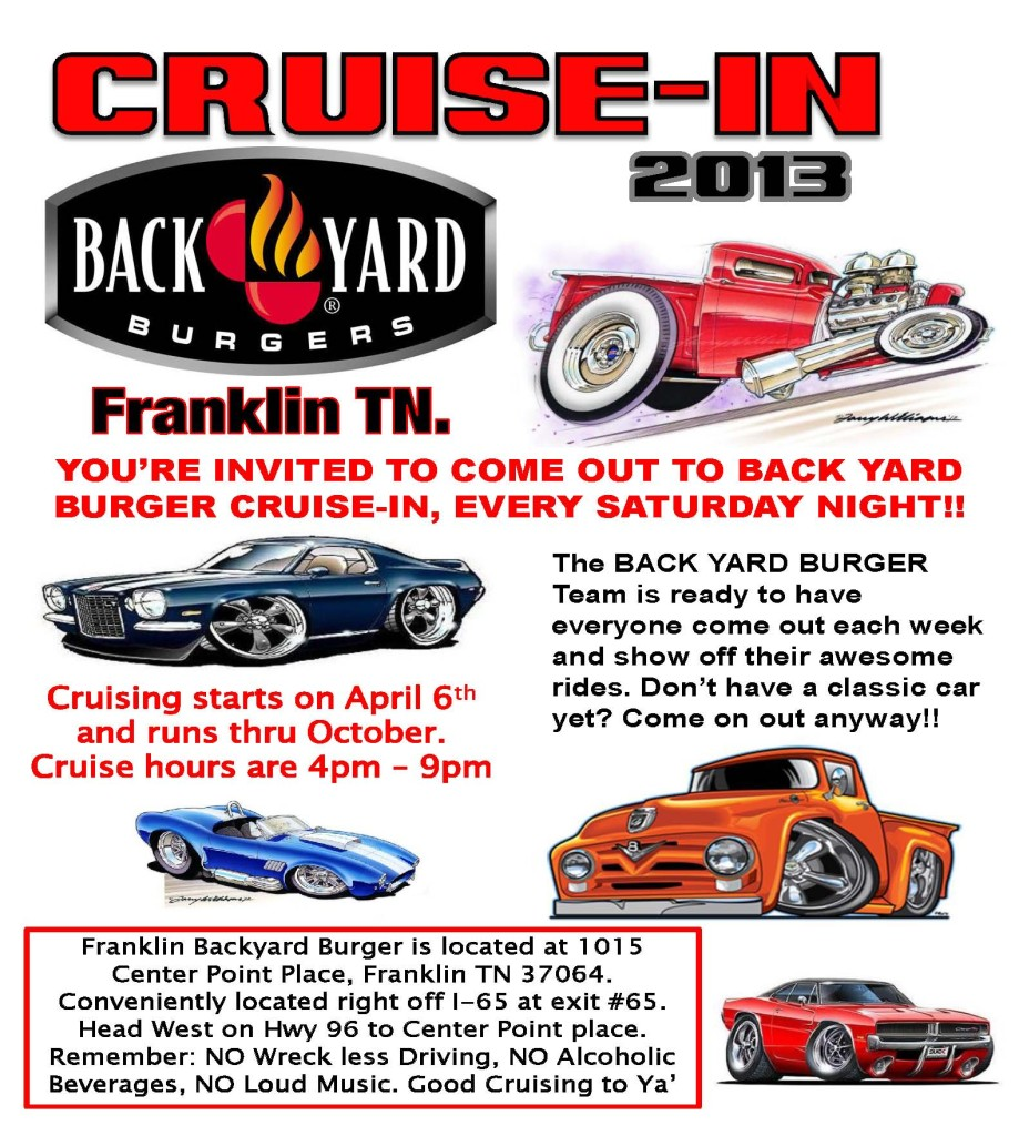 this event this event is hosted by back yard burger of franklin